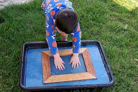 Papermaking With Preschoolers