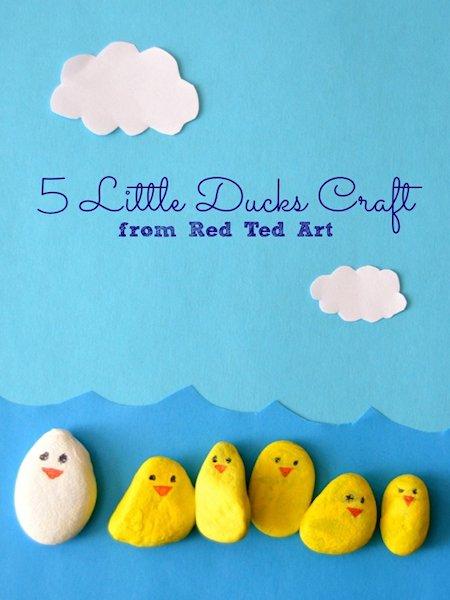 5 Little Ducks Play Set