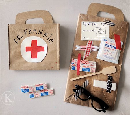 doctor bag craft template - doctor day activities lesson plans