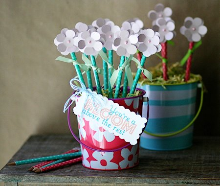 DIY Pencil Flower Bouquet