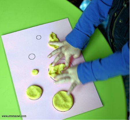 Playdough Activity Mats