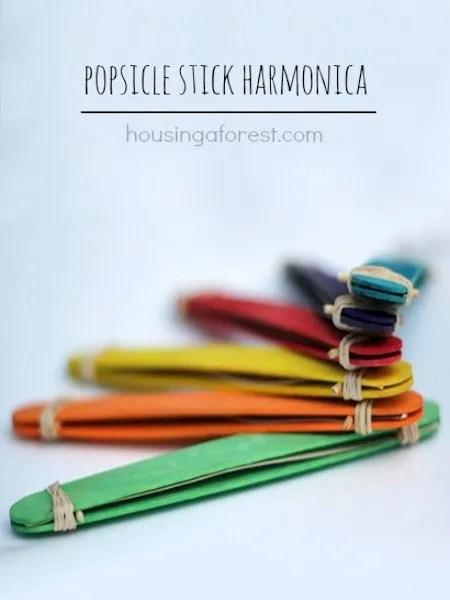 Popsicle Stick Harmonica