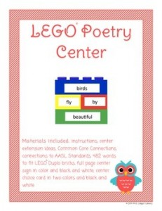 lego poetry center