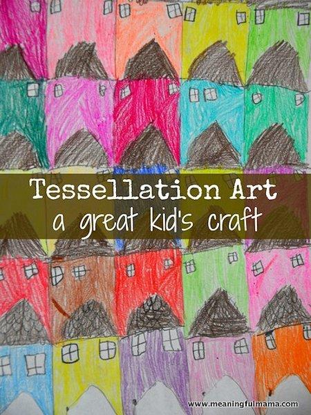 Tessellation Art for Kids
