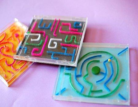CD Case Labyrinth