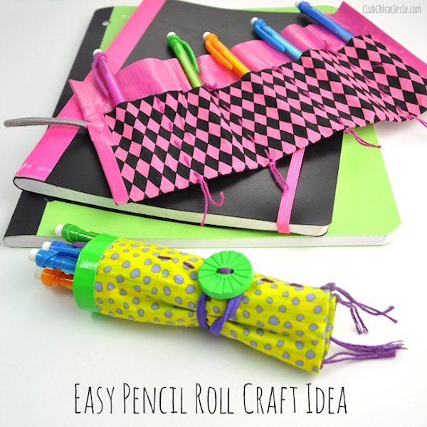 Easy Pencil Craft Idea for Back-to-School