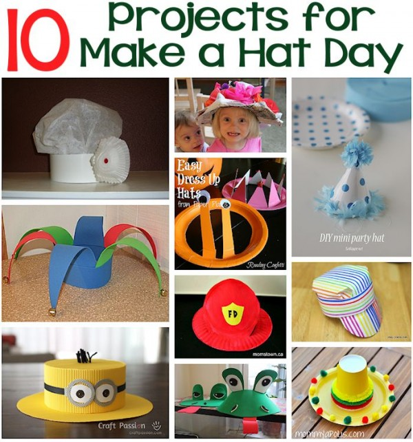 Happy Make a Hat Day