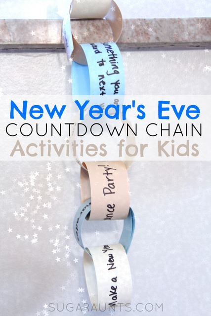 New Year's Eve Activity Kids Countdown Chain