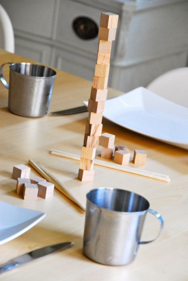 DIY Dinner Table Game