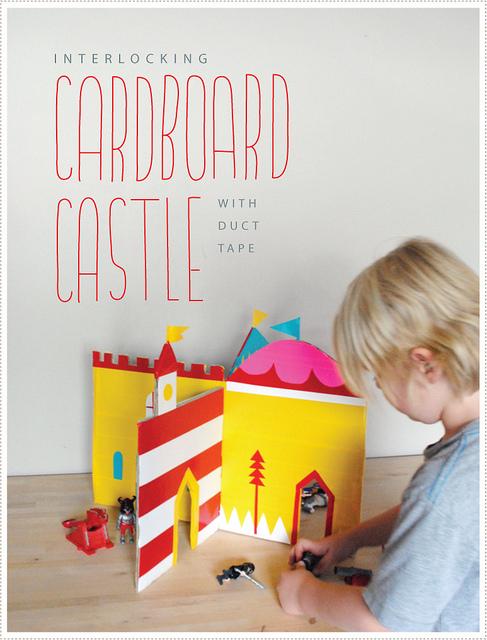 Interlocking Cardboard Castle