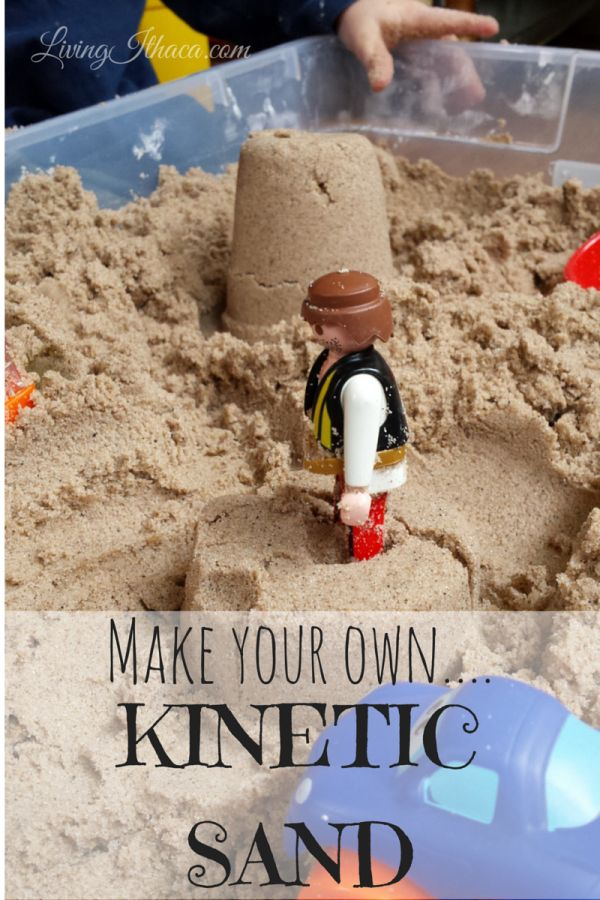 Make Your Own Kinetic Sand Lesson Plans