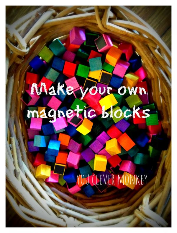 Making Mini Magnetic Blocks