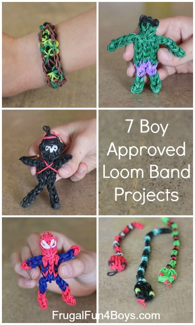 boy craft ideas 7 boy approved rainbow loom band projects lesson plans 1167
