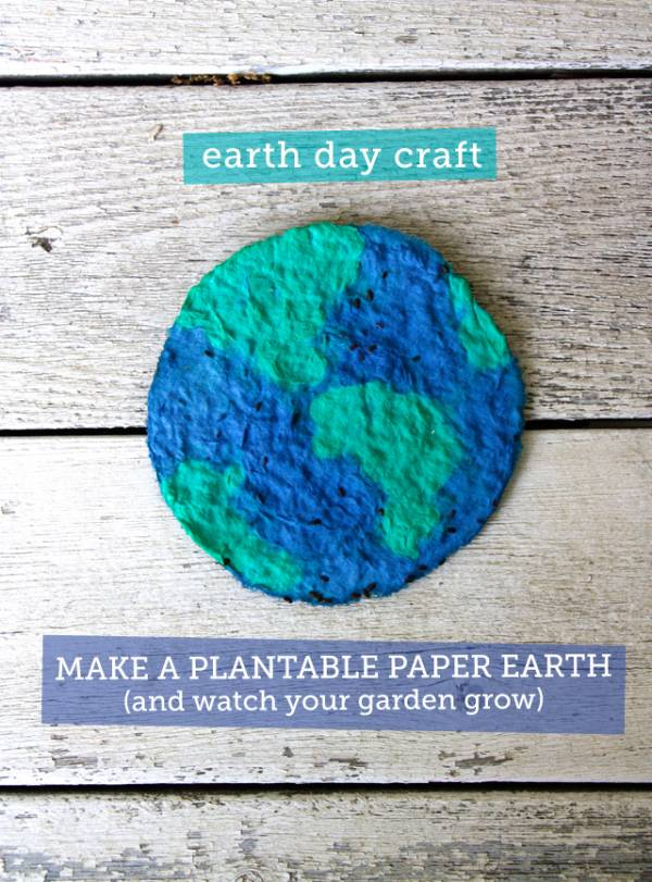 Plant-able Paper Earth