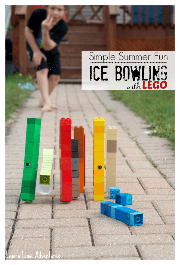 Ice Bowling with LEGO
