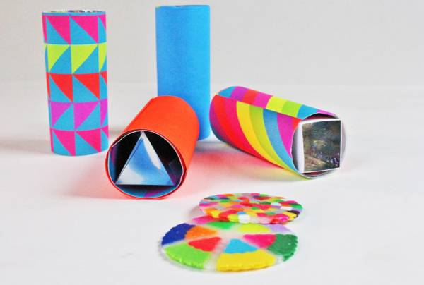Mini DIY Kaleidoscopes