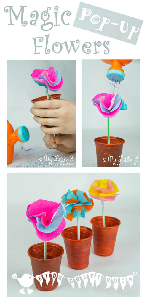 Mary Mary Quite Contrary Pop-Up Flower