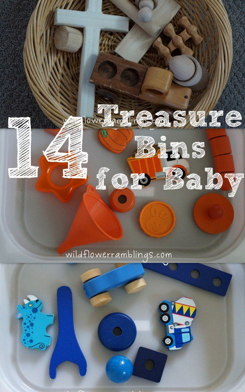 14 Treasure Bins for Baby