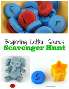Beginning Letter Scavenger Hunt