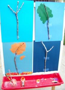 Painting Trees through the Seasons