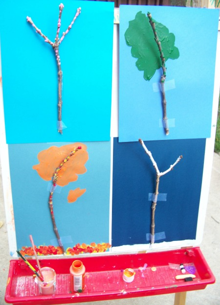 Painting Trees through the Seasons
