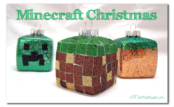 minecraft-Christmas-ornaments-diy-craft-boy