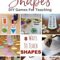 8 Ways To Teach SHAPES to Children