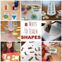 8 Ways To Teach SHAPES to Children