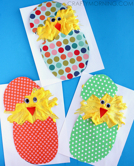 PUFFY-PAINT-HATCHING-CHICKS-EASTER-KIDS-CRAFT