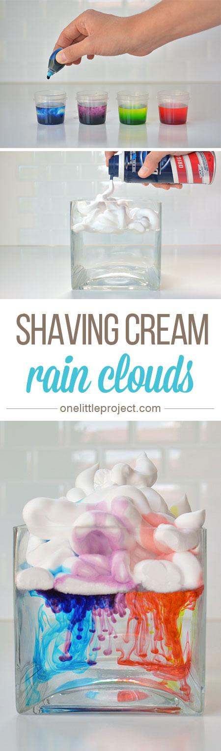 Rain-Clouds-from-Shaving-Cream