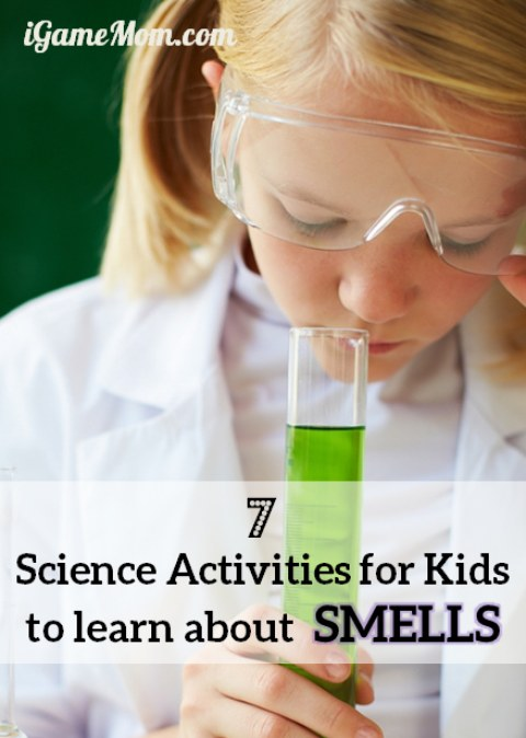 Science activities for learning about smell.
