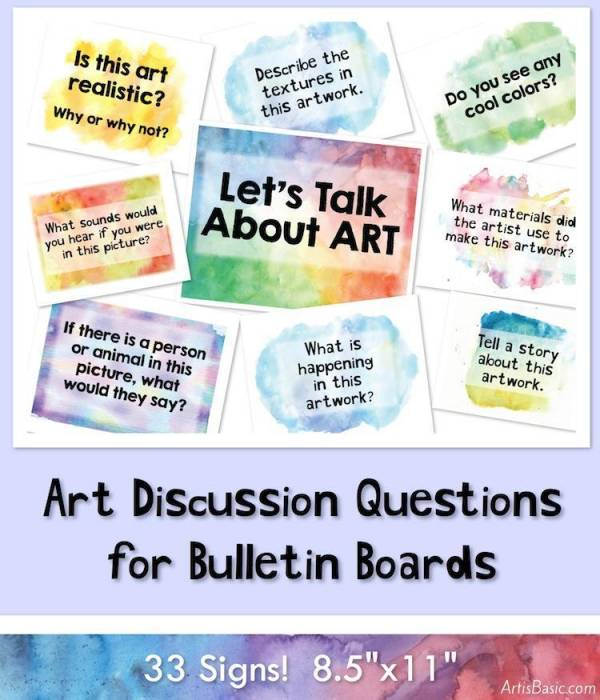 printable art discussion questions