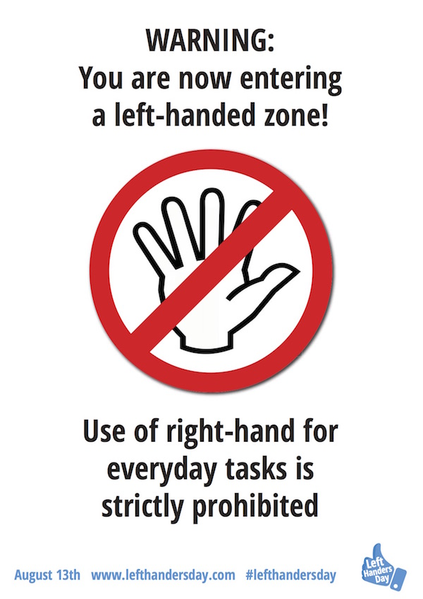 celebrating left handers day