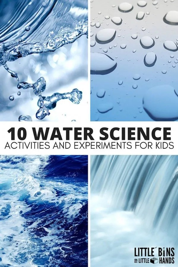 water science activities