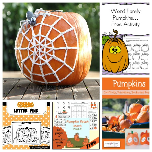 pumpkin learning activities for kids