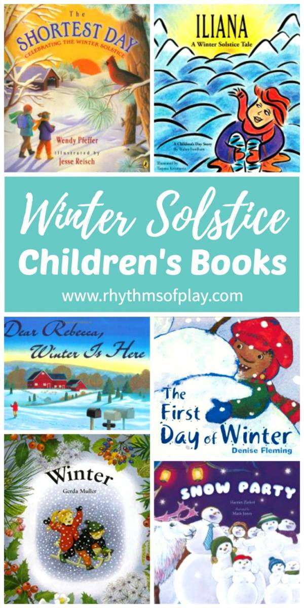 Winter solstice books and activities for kids.