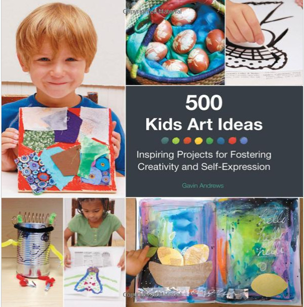 500 kids art ideas book review