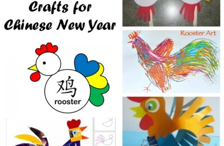 Rooster Crafts and Activities for Chinese New Year
