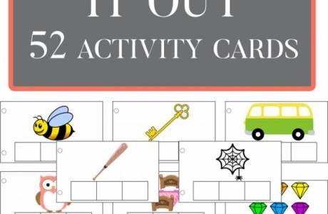 Activity Cards to Help Kids Sound it Out