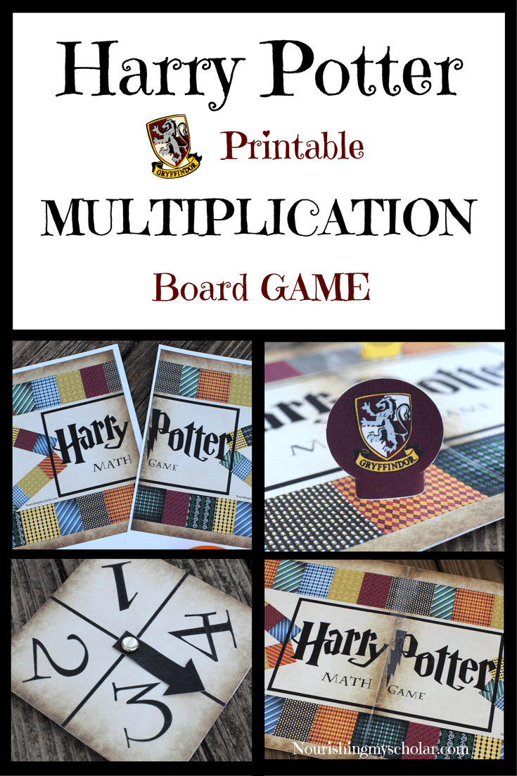 Harry Potter multiplication game.