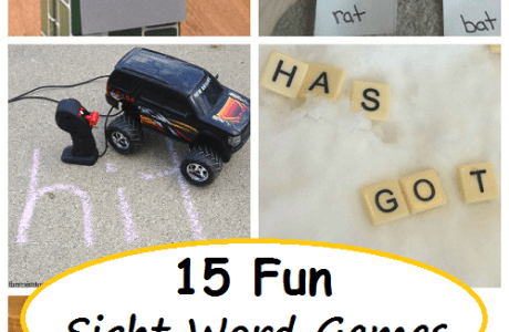 15 Fun Ways to Play with Sight Words at Home