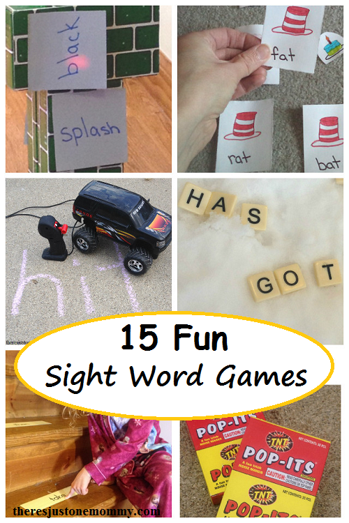 fun sight words games for kids