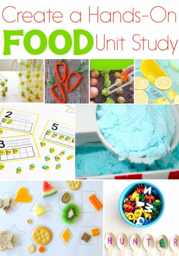 make your own food unit study