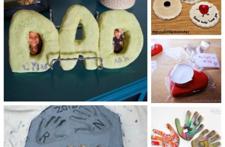 Salt Dough Projects to Make for Dad