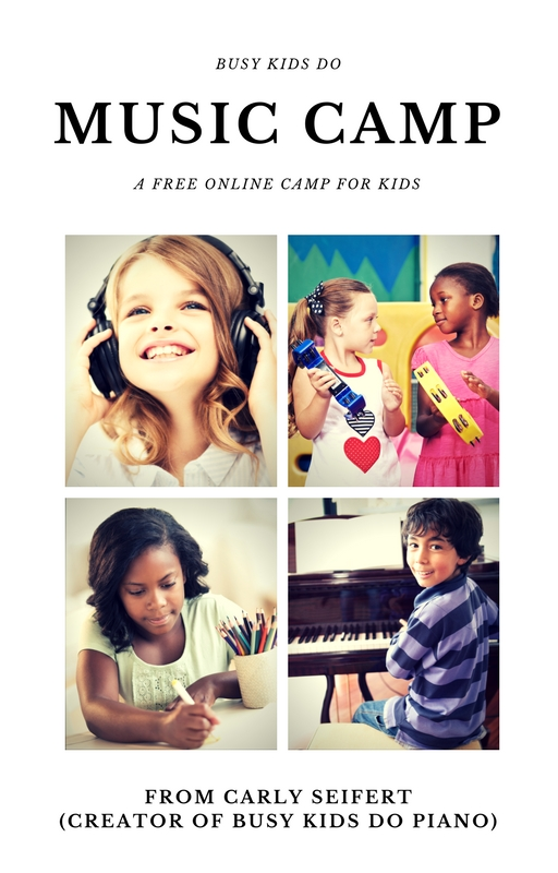 free online music camp for kids