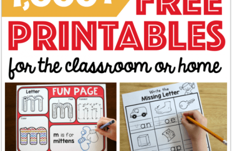 Check out this Amazing Collection of Printables