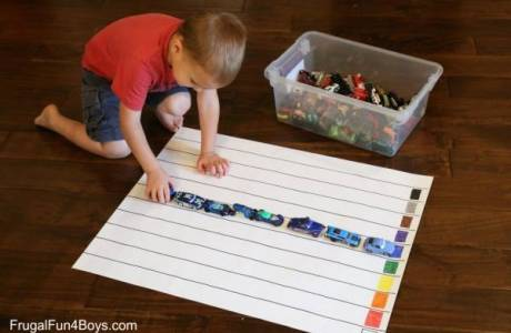 An Easy Way to Do Graphing with Preschoolers