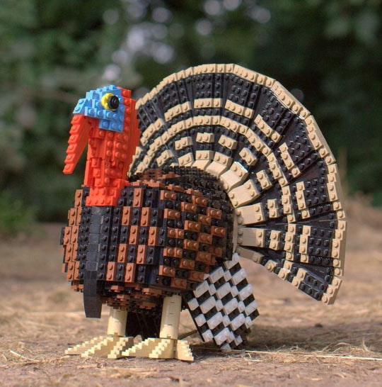 STEM Inspiration: Lego Thanksgiving Centerpieces