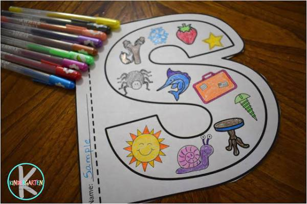 Fun Alphabet Coloring Sheets To Print – Lesson Plans