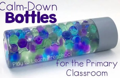 Have a Calm Down Corner? These Bottles are the Best!